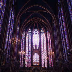 Sainte-Chapelle (Olly Denton) Tags: church cathedral art beauty design stainedglass religion religiousbuildings light roof chapel lights lighting architecture architecturelovers architectureporn architecturephotography architecturalphotography iphone iphone6 6 vsco vscocam vscoparis vscofrance ios apple mac shotoniphone saintechapelle paris iledefrance france
