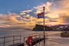 Teignmouth Grand Pier (gilldavies50) Tags: flag lifebuoy