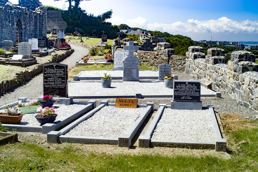 BACK IN JANUARY 2009 I VISITED THE OLD GRAVEYARD IN HOWTH [I HAD TO LEAVE BECAUSE I WAS ATTACKED BY GULLS]-135889