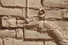 Mushussu ,Western Wall lower Ishtar Gate, Babylon (8).jpg (tobeytravels) Tags: iraq babylon babel mesopotamia akkadian amorite hammurabi assyrian neobabylonian hanginggardens achaemenid seleucid parthian roman sassanid alexanderthegreat nebuchadnezzar sargon chaldean hittites sennacherib xerxes