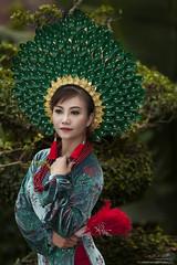 【Traditional Dress - Phoenix Reborn】 (Huỳnh MiNH Trí) Tags: shooting modeling portrait styling lighting aodai professional gorillazs photographer art girl beauty traditional vietnam dress design color feeling