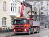 Volvo FM UX96127 loads construction equipment (sms88aec) Tags: volvo fm ux96127 loads construction equipment