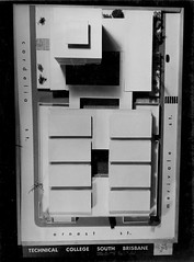 Model of the Technical College, South Brisbane (Queensland State Archives) Tags: college education building architecture model queensland archives qld history records 3d threedimensional technicalcollege southbrisbane