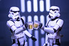 Cheers from the troopers (jezbags) Tags: cheers troopers starwars stormtrooper trooper stormtroopers beer deathstar mates friend macro macrophotography macrodreams canon canon80d 80d 100mm closeup upclose actionfigure figuarts shfiguarts bandai