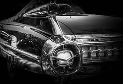 MOTORFEST '17 (Dave GRR) Tags: vehicle auto classic american muscle vintage antique cadillac mono monochrome black chrome show motorfest canada 2017 olympus omd em1 1240