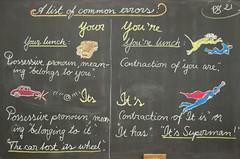 4th Grade: Language Arts (ArneKaiser) Tags: 4thgrade 5thgradefarewell autoimport boarddrawings edited endofyearshow languagearts mrkaisersclass pineforestschool waldorf waldorfjourney chalk chalkboard chalkdrawings