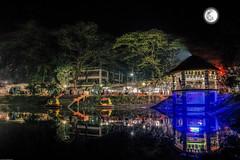 Village park (Shahrear94) Tags: landscape night lights canon bangladesh moon life unexpected park different exposure wide 18mm colors 70d pond winter