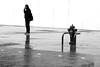 the planted man (pascalcolin1) Tags: paris13 homme man austerlitz pompe pomp planté planted photoderue streetview urbanarte noiretblanc blackandwhite photopascalcolin pluie rain reflet reflection canon50mm 5omm canon
