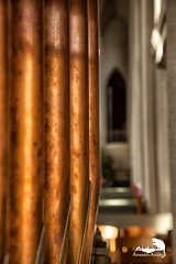 organ pipes (Sic Itur Ad Astra LRPS) Tags: red iceland snow ice cold icelandic hallgrimskirkja reykjavik church lutheran