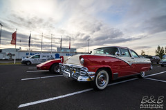 Ford Crown Victoria ´56 (B&B Kristinsson) Tags: krúsercarclub krúser krúserkvöld cruisenight reykjavik iceland