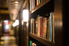 Old Selection (giantmike) Tags: decorations epic hallway library light preparations wedding books shelf
