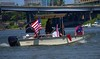 Flag Recovery Duty (Scott 97006) Tags: boat watercraft flags recovery vessel guys river bostonwhaler