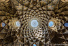 Amazing ceiling of Kashan bazaar. (Mieczysław Skrzypski) Tags: iran kashan kaszan adornment arc arch architecture bazaar building ceiling cupola decoration dome embellishment eyebright mosaic ornament roof skylight travel vault irn
