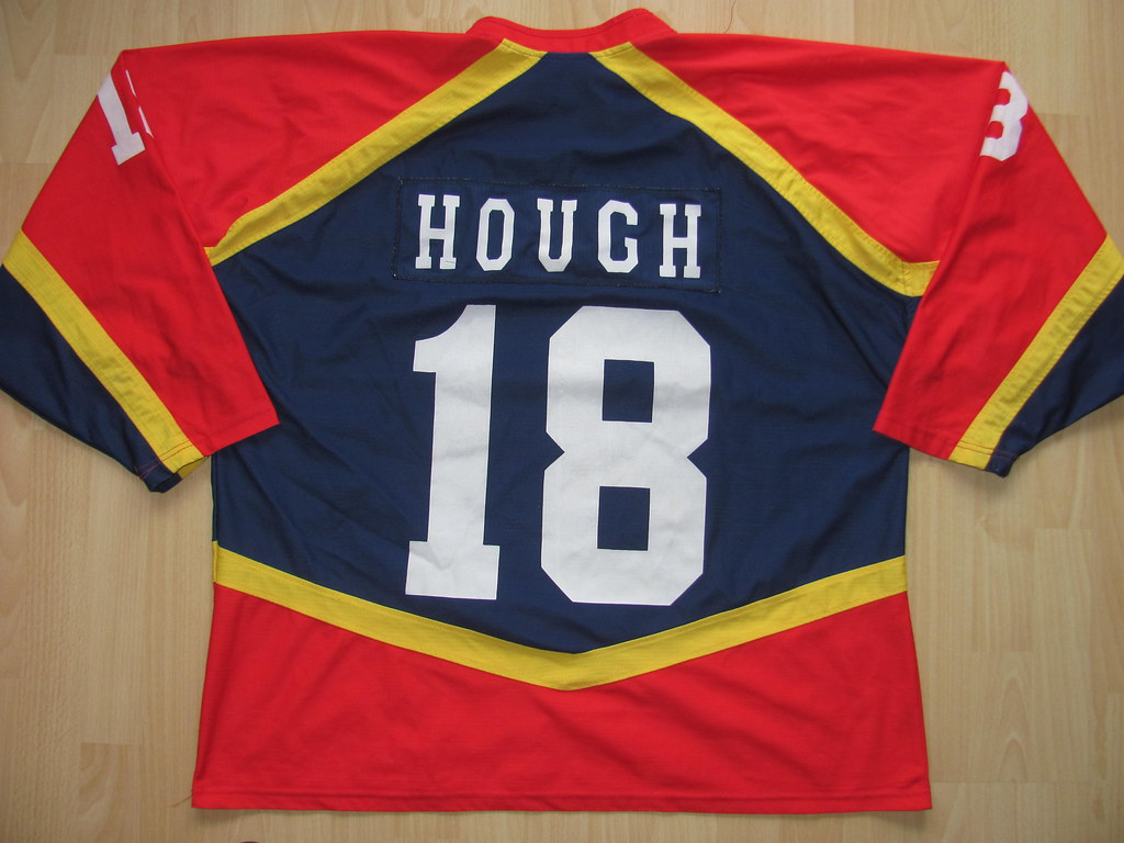 18 Alan HOUGH Game Worn Jersey (kirusgamewornjerseys) Tags  edinburgh  capitals scotland game 0db8a161b
