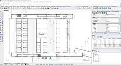 Plan View screeshot in Rhino 6