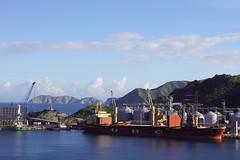 arriving in Santa Marta/Colombia (Suzanne's stream) Tags: santamarta kolumbien habour ship arriving mountains southamerica vessel norwegiansun colombia