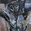 crucifixion   1990(about) (Kazuko Tsukioka) Tags: crucifixion collage pierodellafrancesca
