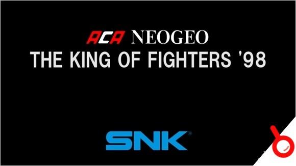 SNK街機冷飯繼續《拳皇98》日版登陸PlayStation 4/X1