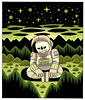 Patience (Jack Teagle) Tags: drawing deadastronaut undead zombie cosmic space sciencefiction scifi