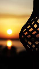 Sunrise on Ganga. (Phlos) Tags: alba ganga gange varanasi india sky cielo sole sun sunrise