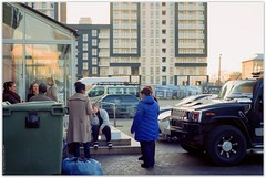 Smoke break. (Ігор Кириловський) Tags: c41 lviv ukraine slr nikonf5 nikkor 50mmf18afd film kodak colorplus200 bw uvhaze mrcnano xspro digital markstudiolab smokebreak office insurancecompany