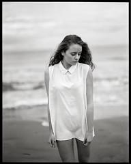 on the beach by lsmart -  #Pentax67 #trix400