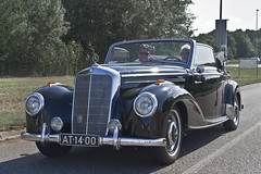 Mercedes-Benz 220 A Cabriolet 1952 (3610) (Le Photiste) Tags: clay daimlerbenzagstuttgartgermany mercedesbenz220acabriolet cm 1952 mercedesbenzw187typ220acabriolet simplyblack germanconvertible at1400 sidecode1 lelystadthenetherlands thenetherlands afeastformyeyes aphotographersview autofocus alltypesoftransport artisticimpressions anticando blinkagain beautifulcapture bestpeople'schoice bloodsweatandgear gearheads creativeimpuls cazadoresdeimágenes carscarscars canonflickraward digifotopro damncoolphotographers digitalcreations django'smaster friendsforever finegold fandevoitures fairplay greatphotographers giveme5 groupecharlie peacetookovermyheart oddvehicle hairygitselite ineffable infinitexposure iqimagequality interesting inmyeyes lovelyflickr livingwithmultiplesclerosisms photographers prophoto photographicworld planetearthtransport planetearthbackintheday photomix niceasitgets myfriendspictures mastersofcreativephotography soe simplysuperb slowride saariysqualitypictures showcaseimages simplythebest thebestshot thepitstopshop themachines transportofallkinds theredgroup thelooklevel1red vividstriking wheelsanythingthatrolls wow yourbestoftoday oldtimer ancientgermanconvertible