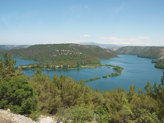 Wasserlandschaft Krka - Kroatien