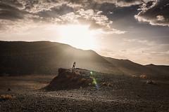 Vantage point. (icarium82) Tags: sonydscrx1rm2 dawn landscape menschen morgendämmerung nature people sonnenaufgang sunrise travel marrakechsafi morocco africa stony vantage tripod landschaft berge marokko sundaylights