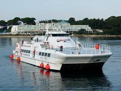 San Pawl (Martin To.) Tags: san pawl croatia porec holiday maritim boat ausflugsschiff schiff martin tolle adria kroatien boot mittelmeer mare sear personen wasser himmel