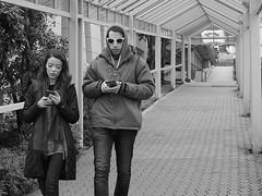 I'll Text You (mattwaller@ymail.com) Tags: seattle seattlecenter cellphones blackandwhitephotography blackandwhite bnw blackwhite bw monochrome urban city streetphotography street streetphotographers streetphoto streetlife couples