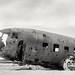 At the plane crash, Iceland