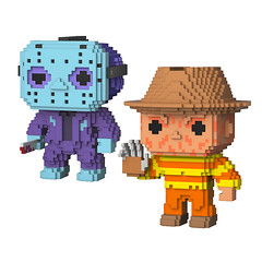 NES Jason and Freddy Vinyl Figures (mywowstuff) Tags: gifts gadgets cool family friends funny shopping men women kids home