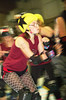 109 (Bawdy Czech) Tags: lcrd lava city roller dolls cinder kittens cherry bomb brawlers skate rollerskate bout bend oregon or february 2018 juniorderby juniors rollerderby lavacityrollerdolls