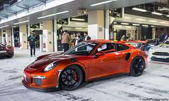 Porsche 911 GT3RS (JayRao) Tags: abudhabi luxury uae dubai yasmarina pirelli february 2018 jayr nikon d610 nikkor 2470 fx porsche 911 gt3rs ferrari 458 italia astonmartin v12 vantage