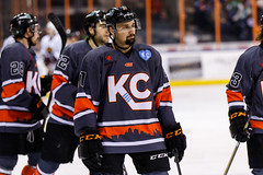"Kansas City Mavericks vs. Indy Fuel, February 17, 2018, Silverstein Eye Centers Arena, Independence, Missouri.  Photo: © John Howe / Howe Creative Photography, all rights reserved 2018 • <a style=""font-size:0.8em;"" href=""http://www.flickr.com/photos/134016632@N02/38577198830/"" target=""_blank"">View on Flickr</a>"