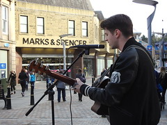 Calvin Prior Singer Guitarist Songwriter Inverness (davefree99) Tags: calvin prior singer guitarist songwriter inverness ms marks spencer highlands scotland