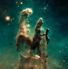 Pillars of Creation (Kevin M. Gill) Tags: pillarsofcreation eaglenebula eagle nebula hubble hst space astronomy science