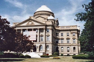 Wilkes Barre - Pennsylvania - Luzerne County Courthouse -  HIstoric
