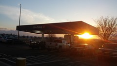 Club Pickup and Sunset :) (Retail Retell) Tags: sams club southaven ms desoto county retail membership warehouse store remodel
