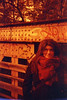 Autumn of Steel (Magnus Bergström) Tags: bridge klotter graffiti lomography redscale xr lomographyredscalexr film 135 35mm luminox luminox356sl analog lomo steel girder portrait idanil00 karlstad alster värmland sweden sverige