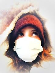 Sick (cheval.tatin) Tags: pelirroja retrato redhead ginger sick mask woman portrait self
