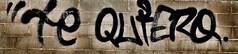 Yo le cuido lo que usted me cuide, le hablo como usted me trate,y le creo lo que usted me demuestre. (elena m.d.) Tags: grafitti arte urbano ciudad elena nikon d5600 texturas