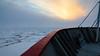 """Sound of silence"" - Marguerite Bay, Antarctic Peninsula (alejandro.romangonzalez) Tags: antarctica antarcticpeninsula britishantarcticsurvey rrsjamesclarkross outdoors nature sunset seascape landscape seaice clouds ship"