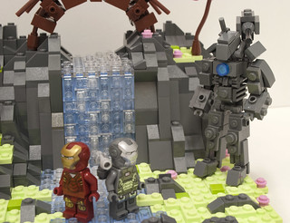 Iron Man 2 Drone Fight