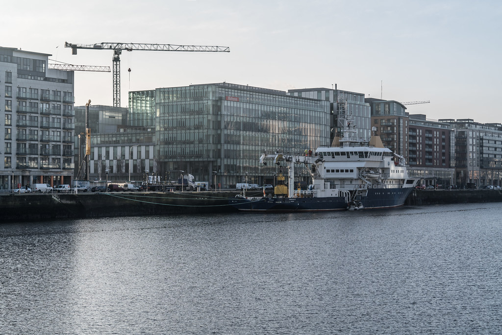 ILV GRANUAILE VISITS DUBLIN [11 JANUARY 2018]-135376