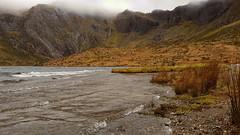 Llyn Idwal [explore 02.03.18] (mandysp8) Tags: glyderau snowdonia nationalpark wales uk winter sand pebbles mountains