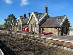 Kirkby Stephen Station [Explored] (pefkosmad) Tags: kirkbystephen cumbria station railway rail transport train buildings england uk railnetwork settlecarlislerailway explored explore