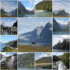 New Zealander journey - Part VIII (Pedro Nuno Caetano) Tags: fdsflickrtoys newzealand fiordlandnationalpark milfordsound lakewakatipu journey mosaic