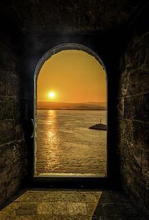 Castle Nuovo Sunset